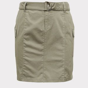Torrid Cargo Mini Skirt